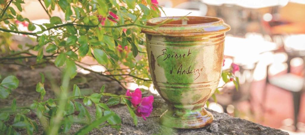 Vase d'Anduzev-Poterie d'Anduze -Les Enfants de Boisset