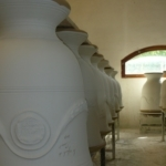 L'engobage-Poterie d'Anduze -Les Enfants de Boisset