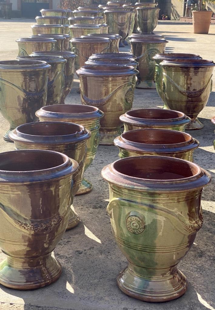 Vase d'Anduze-Poterie d'Anduze -Les Enfants de Boisset