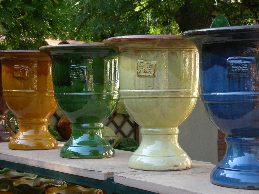 Vases Médicis-Poterie d'Anduze -Les Enfants de Boisset